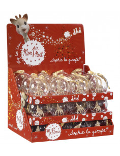 Display 36 Bolas de Natal Sophie la girafe