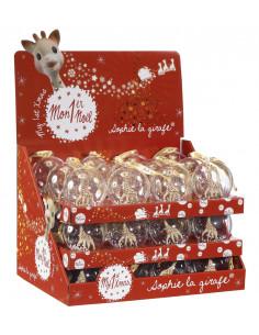 Display 36 Bolas de Navidad Sophie la girafe