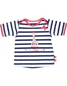 12 meses - T-shirt de banho manga curta com filtro UV - Menina