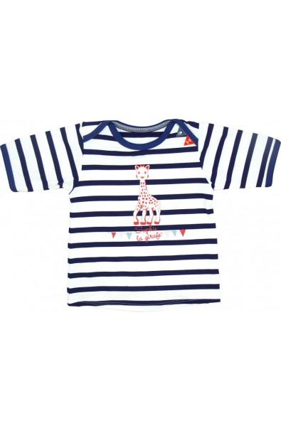 Camiseta de baño manga corta con filtro UV 6 meses - Niña