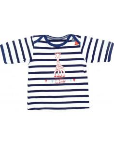 6 meses - Camiseta de baño manga corta con filtro UV - Niño