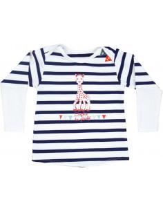 6 meses - Camiseta de baño manga larga con filtro UV