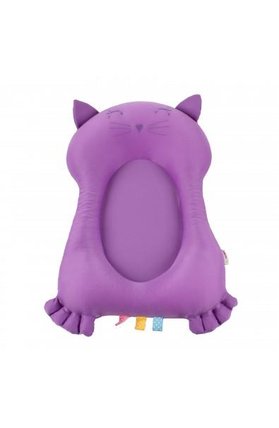 Mi primer compañero de baño - Gato lila