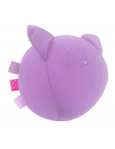A minha primeira bola de banho · Gato lilás