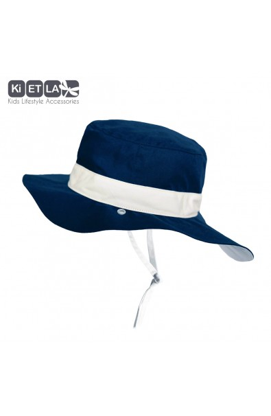Gorro reversible 100% Anti UV talla 45/47 marino