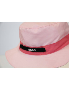 Gorro reversible 100% Anti UV talla 45/47 rosa