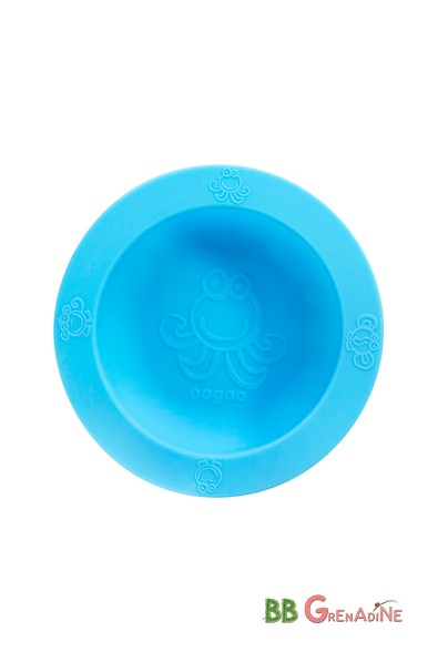 Bol de Silicona multiuso Azul