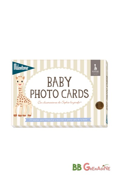 Baby Photo Cards Sophie la girafe