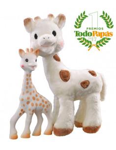 Caixa de oferta Peluche Sophie Chérie + Sophie la Girafe