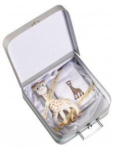 Mala de oferta Sophie la girafe (Sophie la girafe + toalhita)