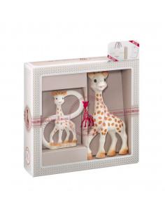 Mi primer set Sophie la girafe + Anillo de Dentición 100% natural