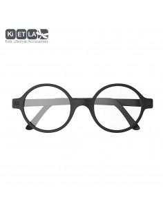 Redondo T5 Negro (6-9 años), gafas para pantallas