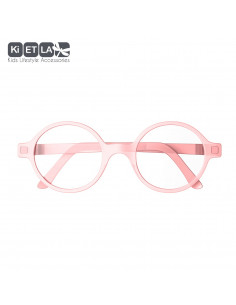 Rodada T5 Rosa (filtro de luz azul) (6-9 anos), óculos para ecrã
