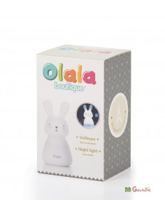 Olala Bunnies · Luz Quitamiedos Individual USB