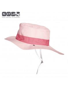 Gorro reversible 100% Anti UV talla 45/47 rosa
