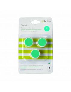 Trimö - Pack 3 repuestos lima etapa  2 (3-6m). Repuestos de color verde.