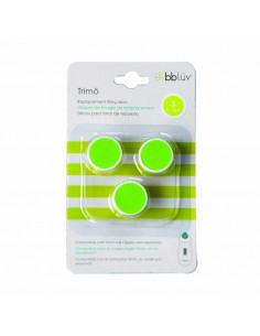 Trimö - Pack 3  repuestos lima etapa 3 (6-12m). Repuestos de color lima.