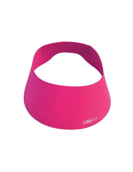 Käp (Rosa) - Visera de baño Silicona. Visera de baño rosa.