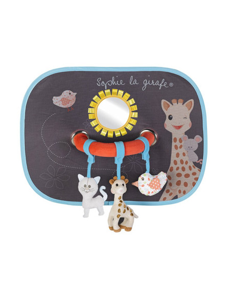Conjunto de 2 palas de sol com arco de atividade Sophie la girafe