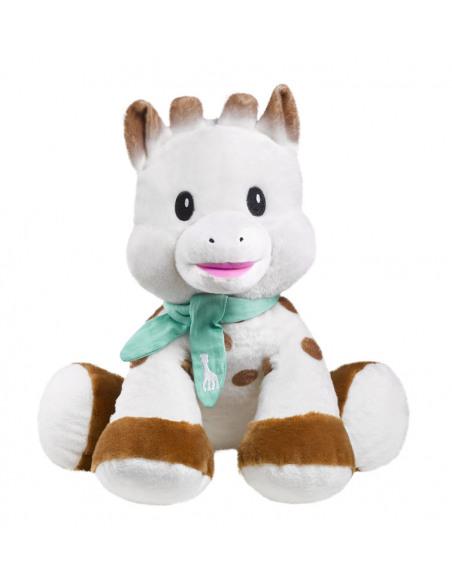 Peluche 35 cm Sophie. Peluche de Sophie la girafe de frente.