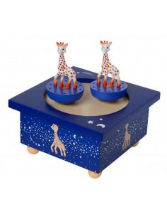 Caja musical de madera magnética Sophie la girafe Vía Lactea