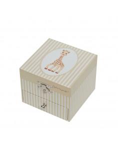 Caja-cubo musical Sophie la girafe