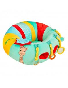 Baby Seat&Play Sophie la girafe. Asiento de actividades multicolor con dibujo de Sophie la girafe
