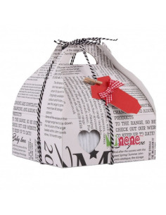 Caja de regalo Case de color gris