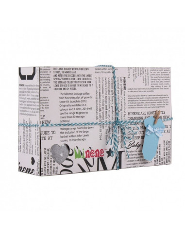 Caja de regalo Gift azul