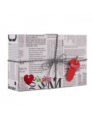 Caja de regalo Gift gris