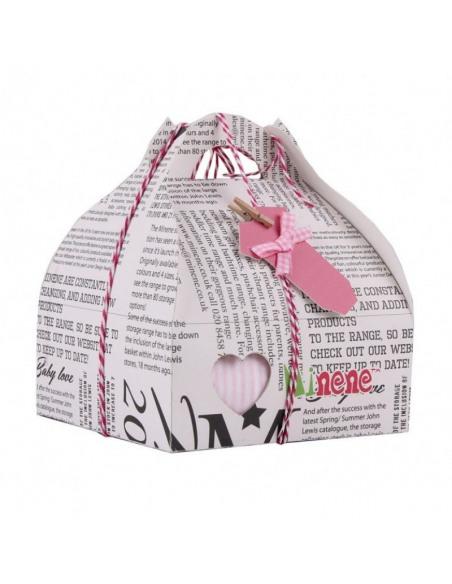 Caja de regalo Case de color rosa