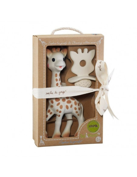 Sophie la girafe + Chucha 100% hévea natural