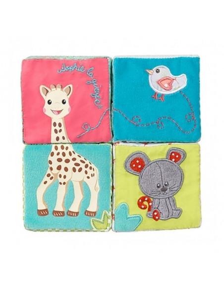 Cubos de desarrollo Sophie la girafe. Cubos unidos.