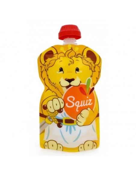 Set de 7 bolsas de alimentación reutilizable, SQUIZ Carnaval 130 ml.