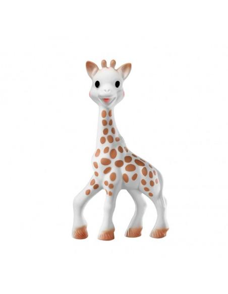 Sophie la girafe So'pure con su estuche regalo. Mordedor de la jirafa Sophie.