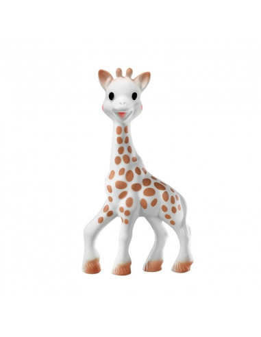 Sophie la girafe con caja regalo - 100% hevea. Mordedor de la jirafa Sophie.