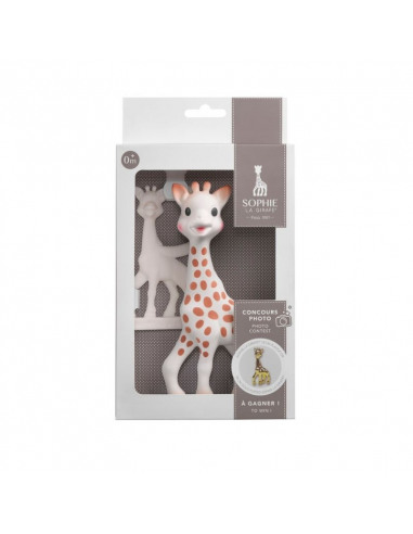 Set Sophie la Girafe + anillo de dentición en su caja de regalo concurso foto