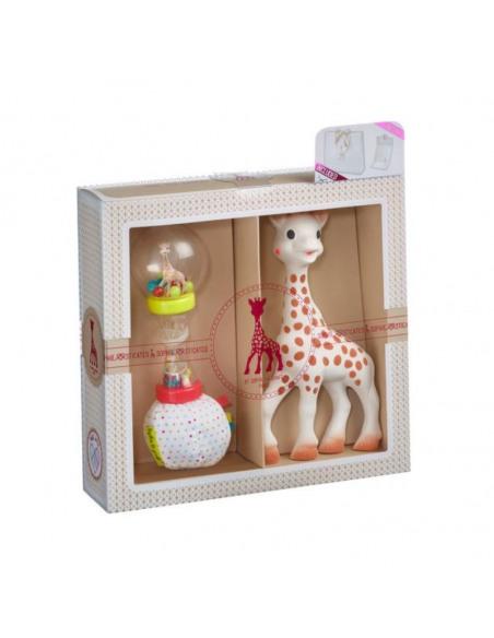 Mi primer set Sophie la girafe + Sonajero Maracas. Mordedor y sonajero de la jirafa Sophie.
