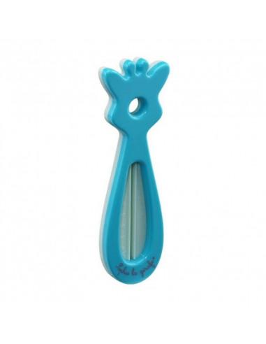 Termómetro de baño Sophie la Girafe de color azul