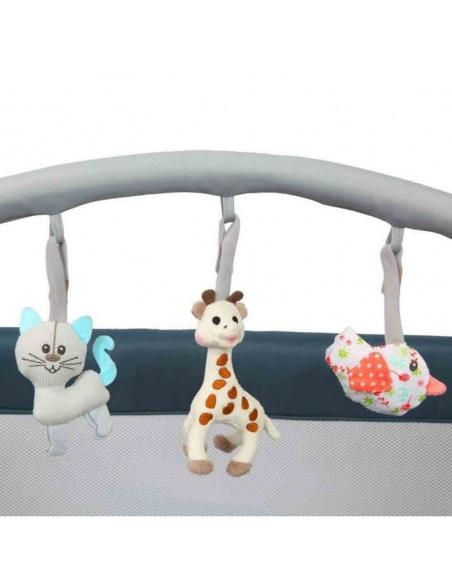 Parque de Viaje Prism Sophie la girafe París. Arco de juguetes.