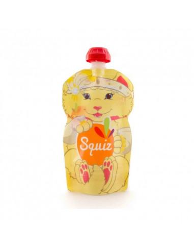 Bolsa de alimentación reutilizable con la imagen de gatito.