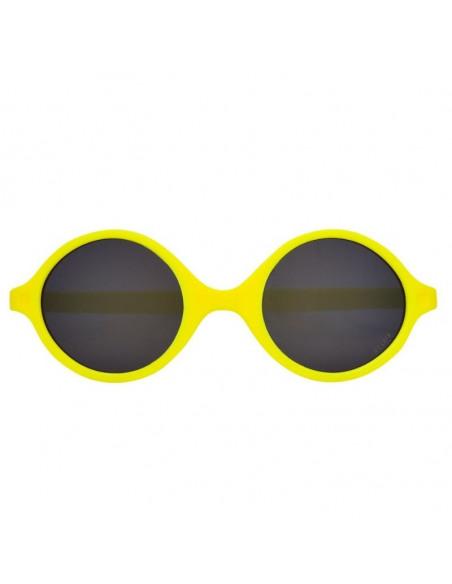 Gafas de sol para bebés de color amarillo