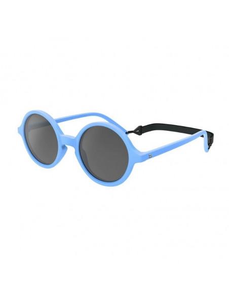 Gafas de sol azules para niños con cordón de sujeción ajustable