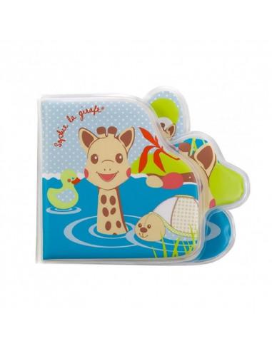 Livro de banho Sophie la girafe