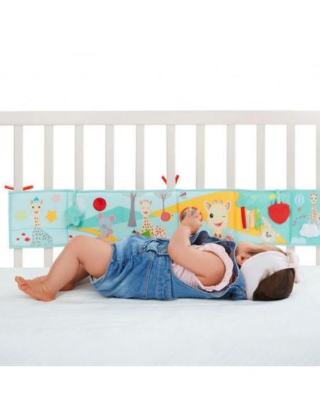 Bebé com livro desdobrável Sophie la girafe