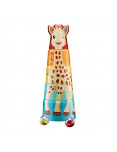 Sophie la girafe's giant tower