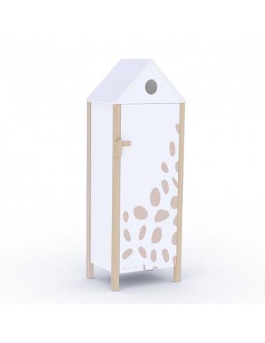 Armario cabina Sophie la girafe fondo blanco