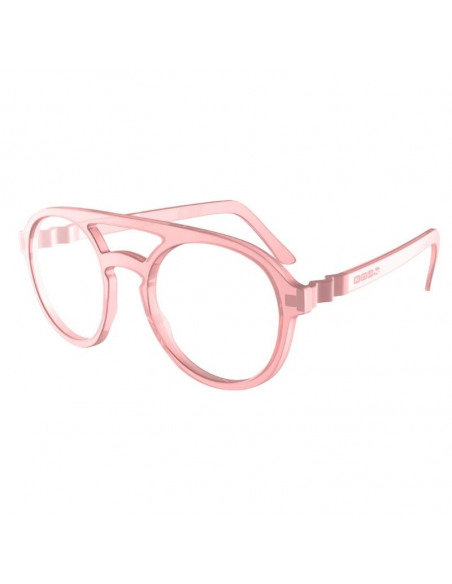 Gafas para pantallas de niños rosa de lado