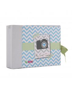 Caja de regalo Marco azul