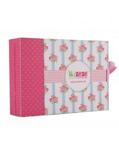 Caja de regalo Sorpresa de color rosa